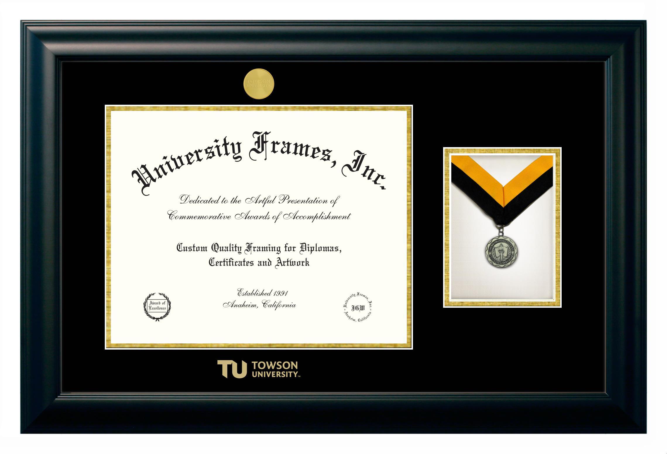 Towson University | Custom Diploma Frames | University Frames